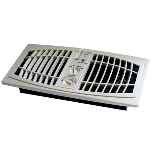 AirFlow Breeze 1000-0001 Register Booster Fan44; Almond - 4 x 10 in. (Breeze Booster)