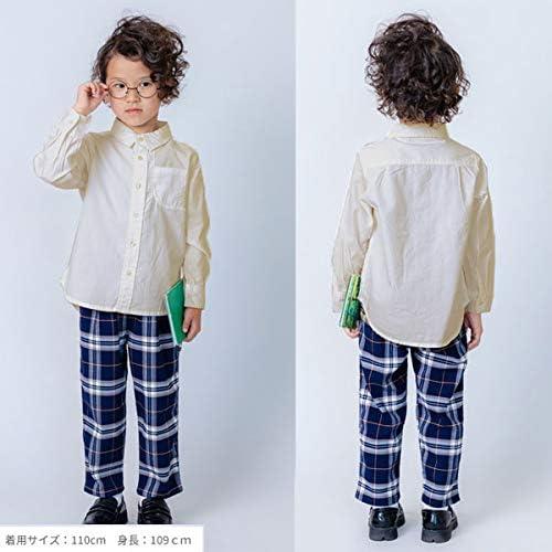 チェック テーパード パンツ 子供服 ジュニア キッズ DL20SP033