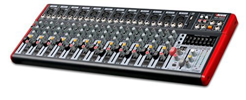 NOVIK NEO MIXER NVK 1602FX 16 Channel Ultra-Slim 12 channels with pre-amplifiers of Mic and Phantom Power (+48v) 4 channels Stereo by NOVIK NEO