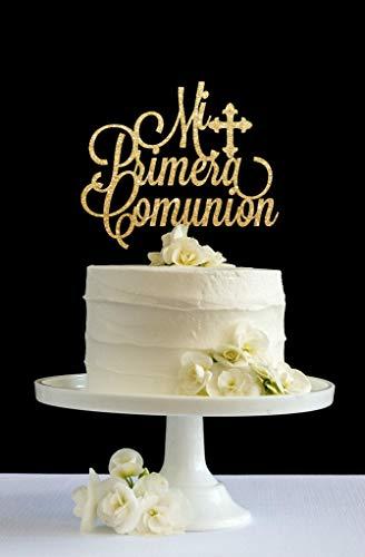 Funlaugh Primera Comunion Holy Communion First Communion Glitter