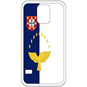 The Azores Flag White Samsung Galaxy S5 Cell Phone Case - Cover