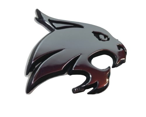 Texas State University Bobcats Premium Metal Auto ()