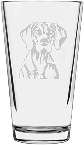 Personalized Akita Pet Dog Etched Wine Glass 12.75oz