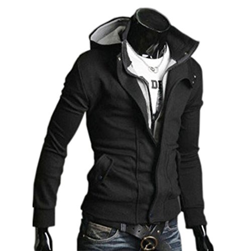 CRAVOG Kapuzenjacke Herren Kapuzenpullover Jacke Mantel Sport Sweatjacke Windmantel Softshelljacke Oberkleidung Outerwear