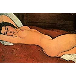 Reclining Nude Poster Print by Amedeo Modigliani (24 x 36)