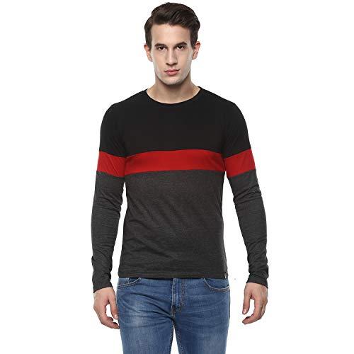 Urbano Fashion Men's Cotton Round Neck Full Sleeve T Shirt