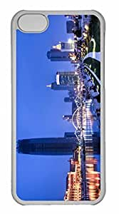 iPhone 5C Case, Personalized Custom Tianjin China for iPhone 5C PC Clear Case
