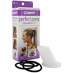 Conair Perfect Pony Volume & Lift Tool - 4 Piece Kit