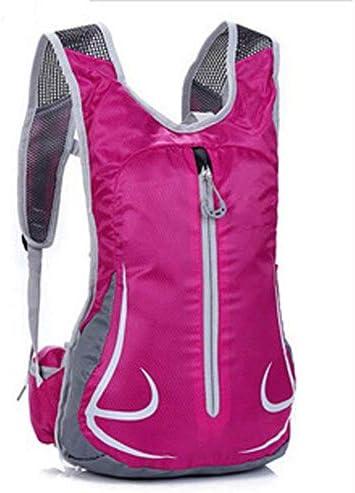 BAJIMI ハイキングバックパック、学生のバックパック、アウトドア自転車乗馬リュック男性アウトドアスポーツ旅行バックパック女性乗馬バッグ男性と女性のバックパック、パープル