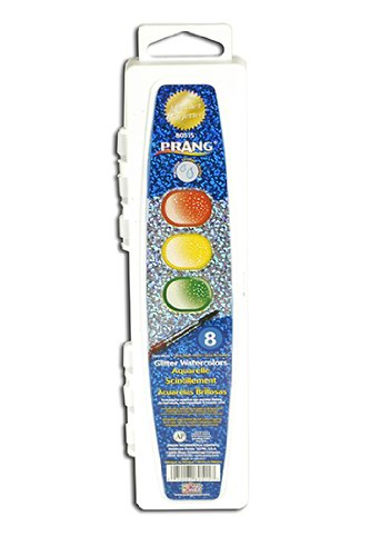 Watercolors Glitter (Paint,Glitter,WSHABL,8CT)