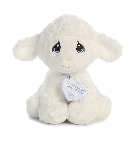 Precious Lamb (Aurora World 15723 Luffie Lamb, White, Small)