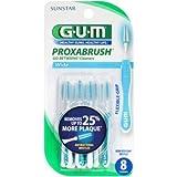 GUM Go-Betweens Proxabrush Cleaners Wide 8 Each