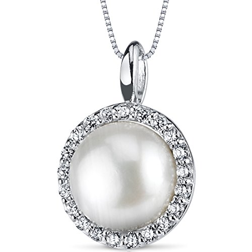 Classic Freshwater Cultured Necklace Sterling product image