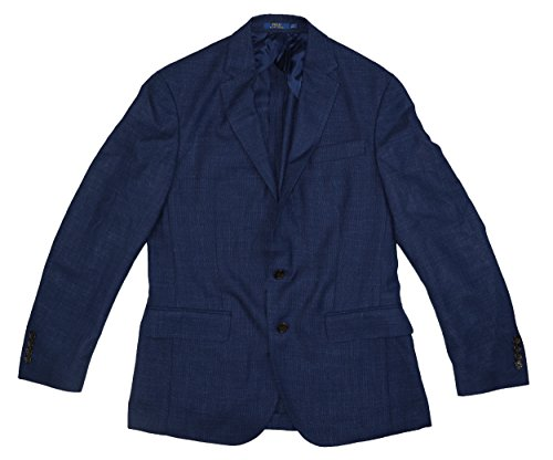 rgan Two-Button Sport Coat Jacket (Navy, 38 Regular) ()