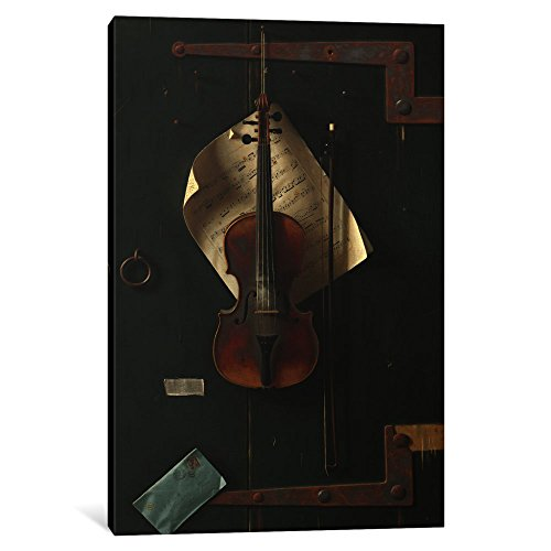 iCanvasART 1 Piece The Old Violin Canvas Print by William Michael Harnett, 0.75 by 26 by 40-Inch