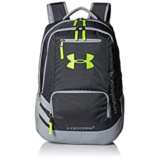 Under Armour Storm Hustle II Backpack, White (100)/Silver, One Size Fits All