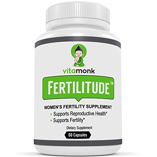 Cheap Fertilitude™ – The #1 Fertility Blend For Women by VitaMonk. Formulated By Licensed Doctors With Gentle Ingredients To Effectively Support Fertility For Women – 60 Capsules – Natural Supplements Aid