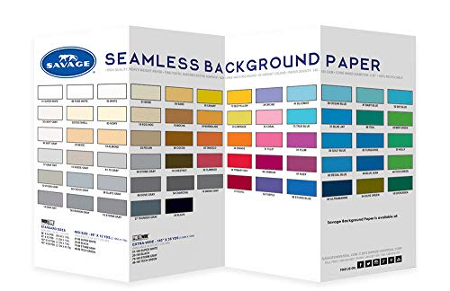 Savage Seamless Background Paper Color Chart (Chart Paper Color)