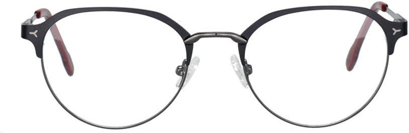 Z&HA - Gafas de lectura inteligentes para hombre y mujer, con lentes de resina HD UV para teléfonos móviles y ordenadores (+50 a 400 unidades), 02., +350