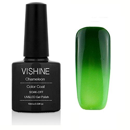 Vishine Thermal Temperature Change Color Soak Off UV LED Gel
