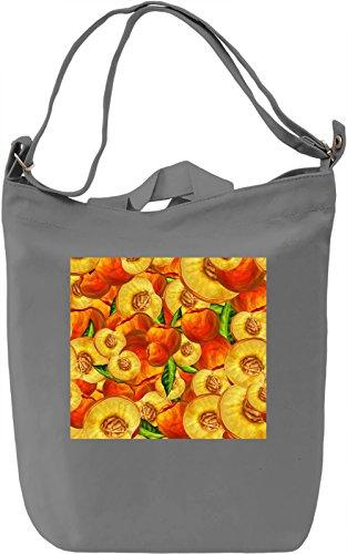 Fruit Print Borsa Giornaliera Canvas Canvas Day Bag  100% Premium Cotton Canvas  DTG Printing 