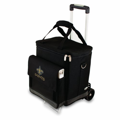 Orleans Saints Insulated Cellar Trolley