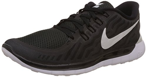 Nike Men's Free Trainer 5.0 Training Shoe Black/Dark Grey/Cool Grey/White Size 13 M US (Nike Flex Run 2015 Mens Running Shoes)