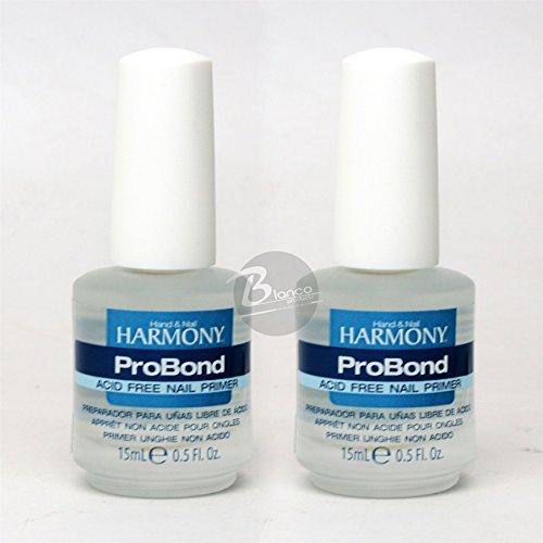 (Hand & Nail Harmony Gelish Acid Free PRO Bond - 0.5 oz 2 PC)