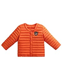 EkarLam Toddler Children Kids Winter Lightweight Chic Outwear Wadded Jacket