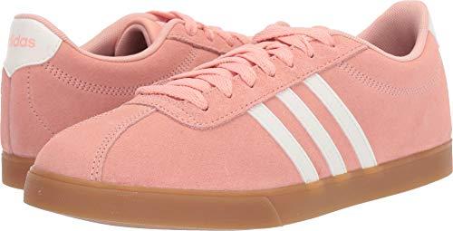 - adidas Women's Courtset, dust Pink/Cloud White/Gum, 9 M US