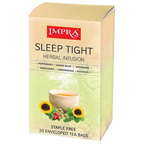 Impra Herbal Sleep Tight Herbal Tea Bags(1. 3 g / 20 ct /26 g)