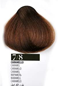Tinte Pelo 7/8 caramelo farmagan Hair Color Tubo 100 ml ...