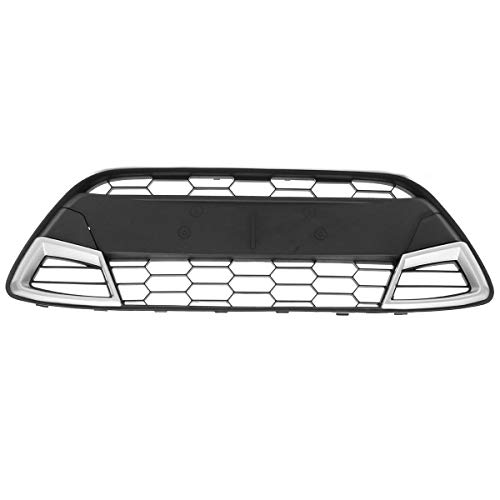 Viviance Front Bumper Radiator Centre Grille Panel Trim Fit For Ford Fiesta 08-11 MK7:
