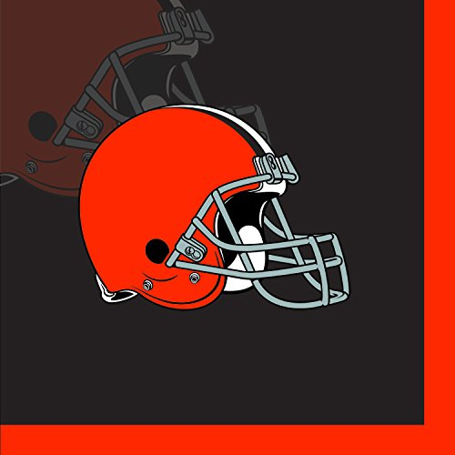 Creative Converting 16 Count Cleveland Browns Beverage Napkins
