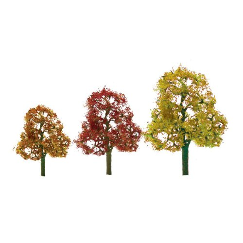 JTT Scenery Products Premium Series: Autumn Deciduous, 3.5-4