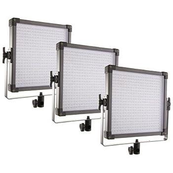 F&V K4000 Daylight LED Panel with V-Mount - 3-Light Kit