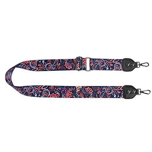 CHIC Belt Print Strap Cross For Handbags Floral Boho Adjustable Shoulder 04 flower DIARY Body rnwRtqF0r