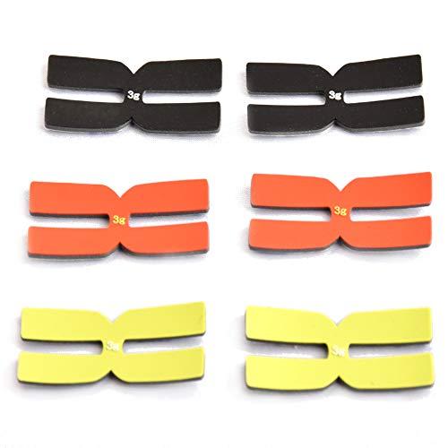powerti Yixuan 3g Tennis Racket Weight Balance Strips Silicone Tennis Racquet Tapes-Set of 6