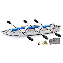 SeaEagle 465 FastTrack Inflatable Boat Kayak Deluxe Package