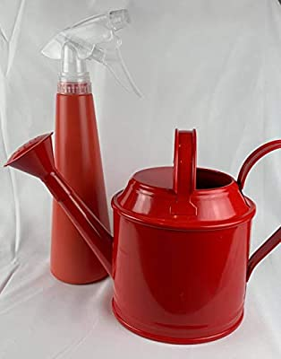 IKEA Socker Watering Can and Tomat Spray Bottle Variety Pack, in The Color Red
