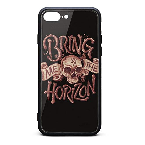 Band Bring Me The Horizon Skull Ghost Cases iPhone Protective Cover for Apple iPhone 8 Plus Case Reinforced Corner TPU Bumper Cushion Scratch Resistant Hybrid Rigid Clear Back (Best Of Maher Zain)
