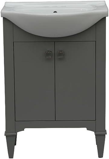 Legion Furniture WLF6045-G Bath Vanity, 24 , Gray