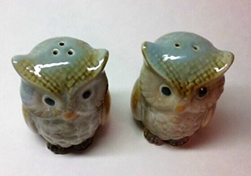 Sea Life Blue Dolphins Salt and Pepper Shaker Set Ceramic 4.5 Inches