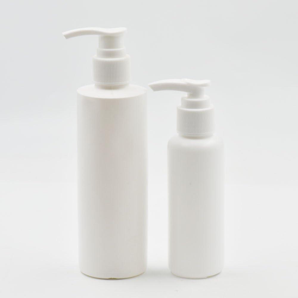 2510pcs 100200ml bomba de dispensador de jabón líquido crema loción rellenable tarro botella vacía oz, plástico, crema, 100 ml