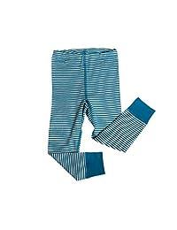 Big Girls Organic Wool-Silk Long-Underwear Pants