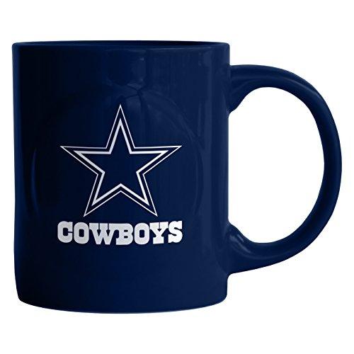 Boelter Brands NFL Dallas Cowboys Sculpted Rally Mug, 11-Ounce