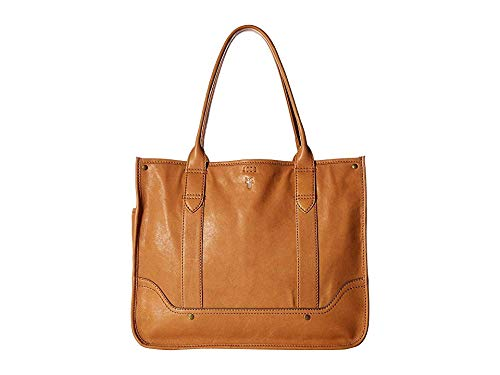 Frye Women's Madison Shopper Tan Soft Vintage Leather One - Tan Shopper