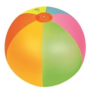 JILONG Jumbo Ball - Pelota acuática XXL, con Colorido y Alegre diseño de Rana, Ø 122 cm