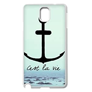 Best New Hard Back Case Cover for Samsung Galaxy Note 3 N9000 - Retro Nautical Anchor CM05L9060