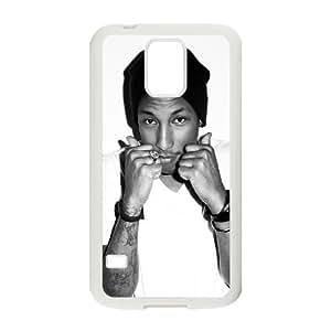 Samsung Galaxy S5 Case Image Of Pharrell Williams YGRDZ26016 DIY Plastic Cell Phone Cases Cover
